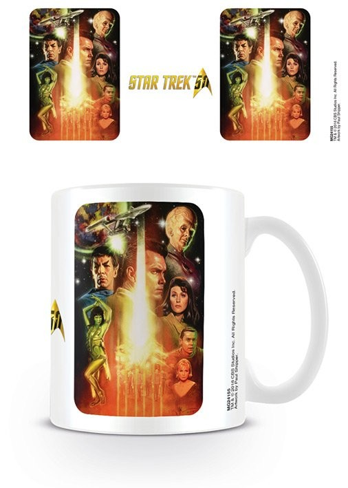 Caneca  Star Trek: The Cage -  50th Anniversary
