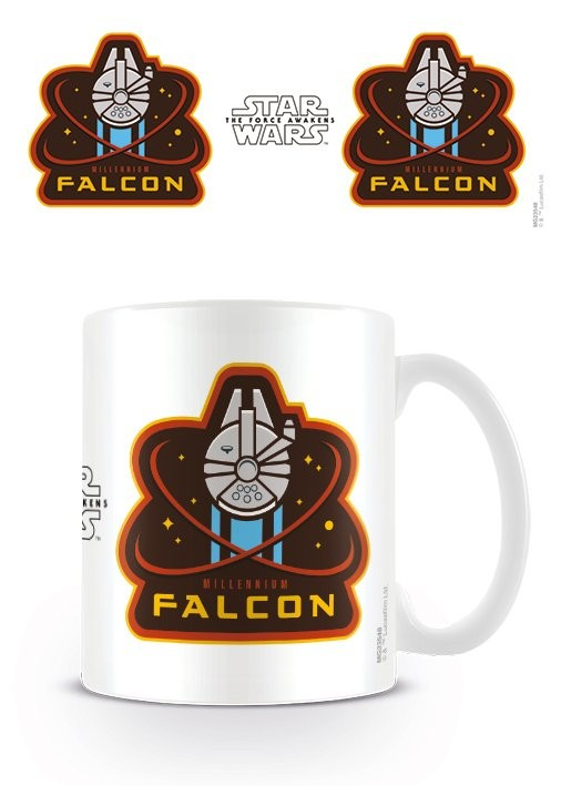 Caneca Star Wars Episode VII: The Force Awakens - Millennium Falcon