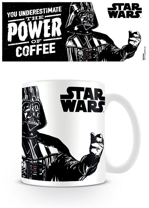 Caneca Star Wars - The Power Of Coffee
