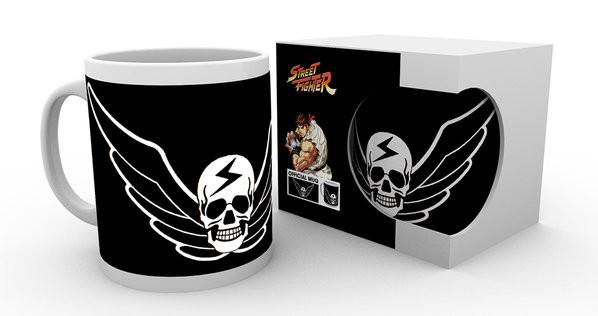 Caneca  Street Fighter - Skull