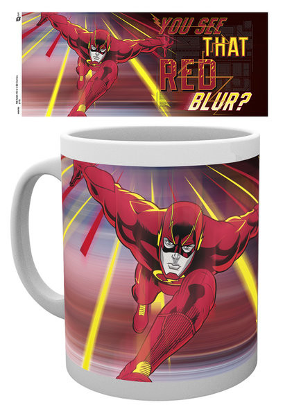 Caneca  The Flash - Red Blur