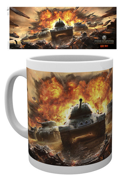 Caneca World Of Tanks - Roll Out