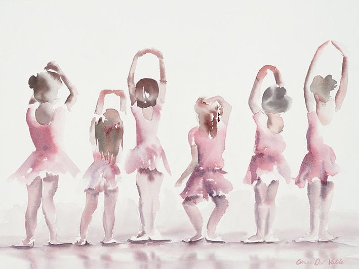 Canvas Print Aimee Del Valle - Les Cinquiemes