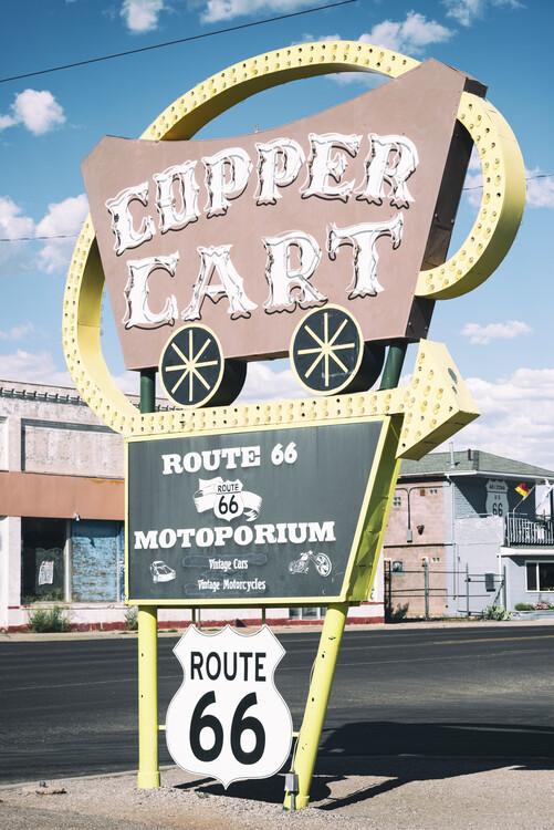 Canvas Print American West - Cupper Cart 66