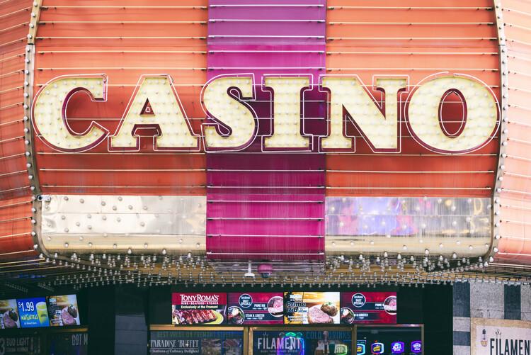 Canvas Print American West - Las Vegas Casino
