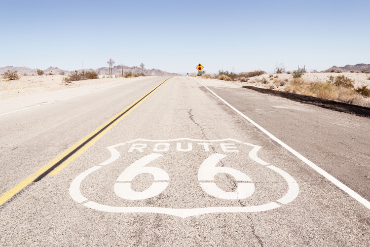 Canvas Print American West - Route 66