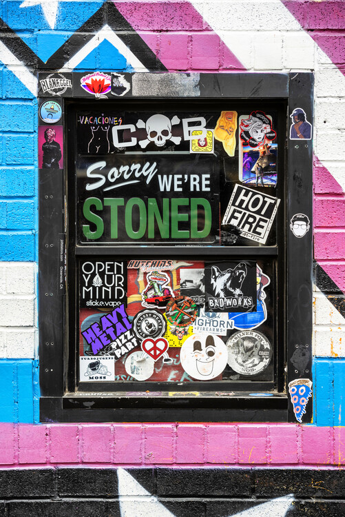 Canvas Print American West - Stoned