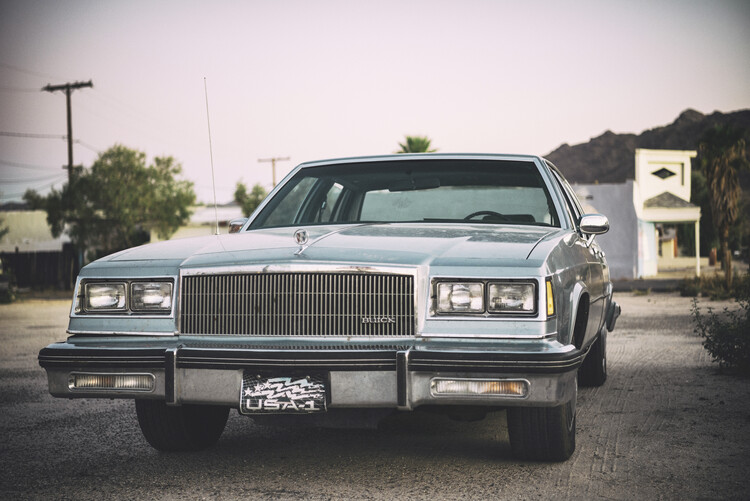 Canvas Print American West - US Buick