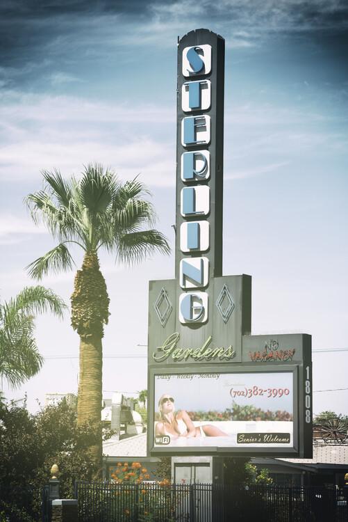 Canvas Print American West - Vegas Sterling