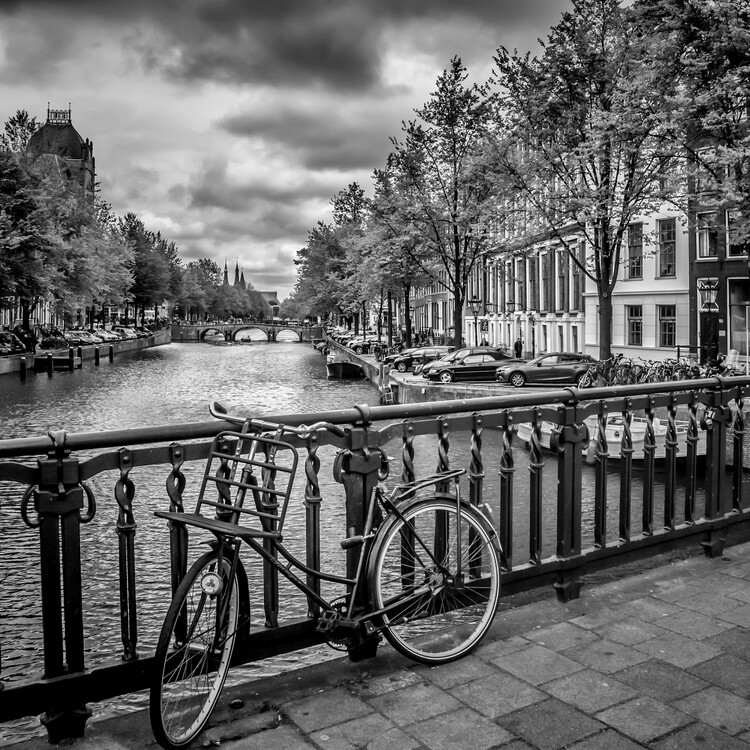 Canvas Print AMSTERDAM Bicycle