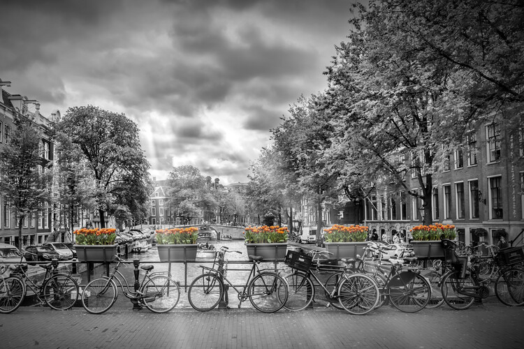 Canvas Print AMSTERDAM Herengracht
