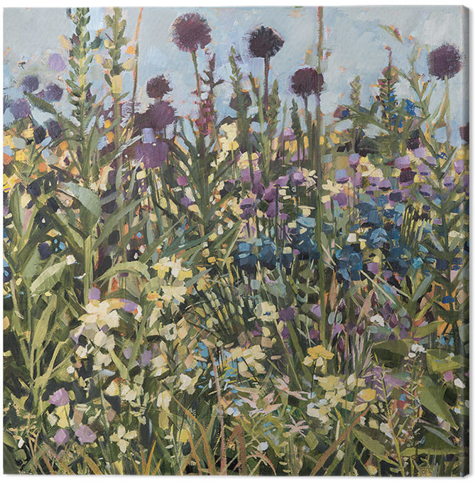Canvas Print Anne-Marie Butlin - Bee Border