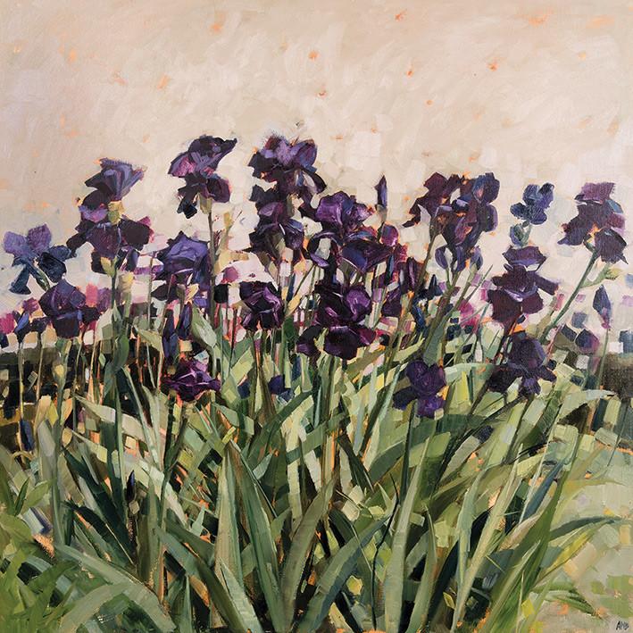 Canvas Print Anne-Marie Butlin - May Garden