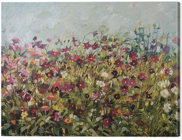 Canvas Print Anne-Marie Butlin - Pink Cosmos