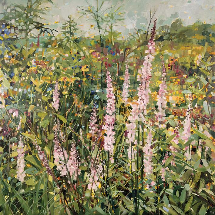 Canvas Print Anne-Marie Butlin - Sussex Garden