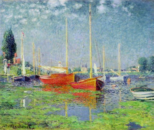 Canvas Print Argenteuil, c.1872-5