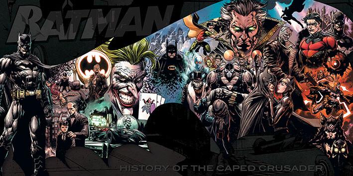 Canvas Print Batman - History of the Caped Crusader