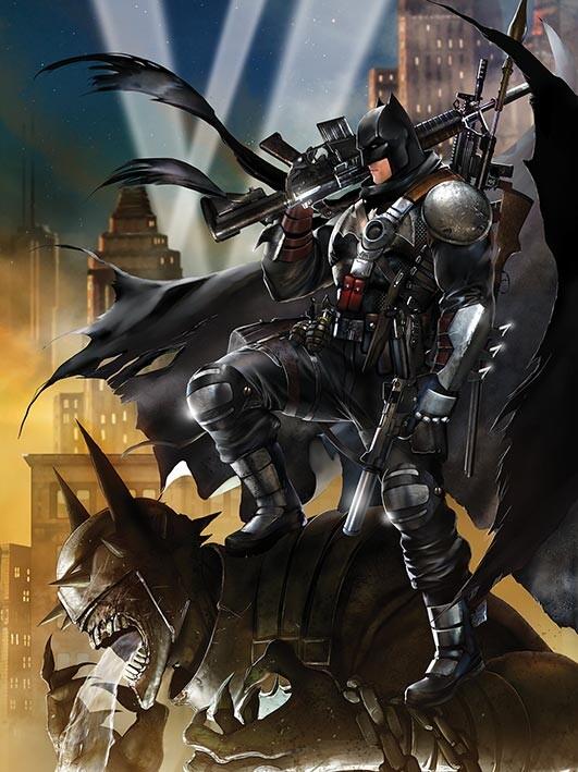 Canvas Print Batman - Locked and Loaded