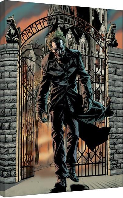 Canvas Print Batman - The Joker Released