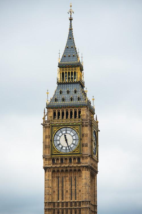 Big Ben Clock Tower Canvas Print