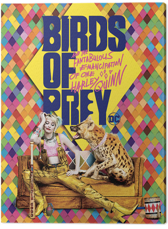 Canvas Print Birds Of Prey: And the Fantabulous Emancipation Of One Harley Quinn - Harley's Hyena