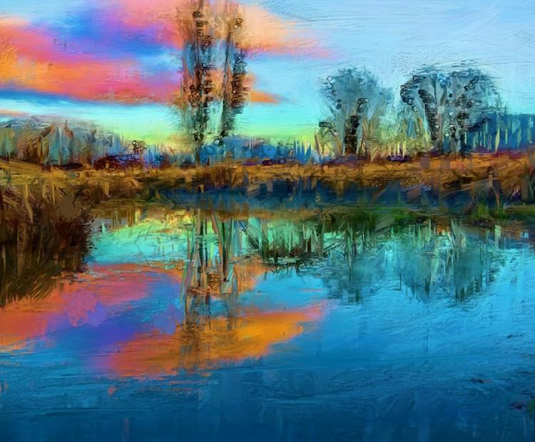 BLUECRASSIO Canvas Print