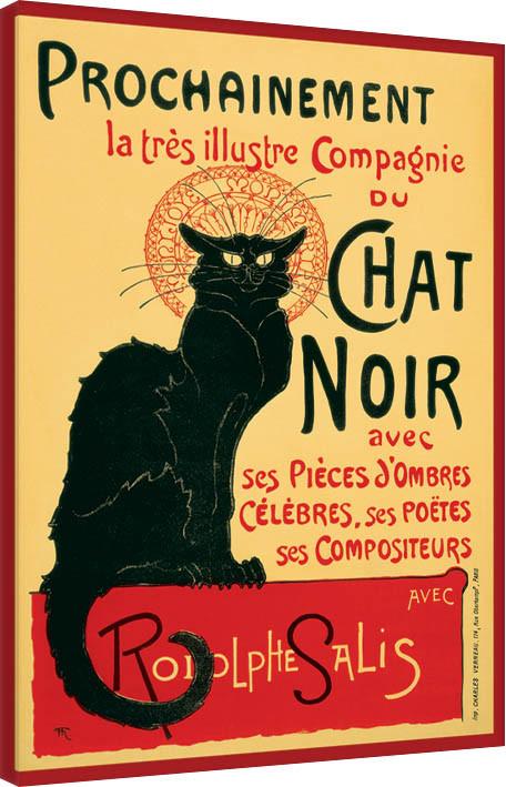 Canvas Print Chat Noir