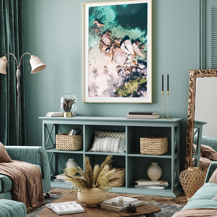 Canvas Print Desert Island