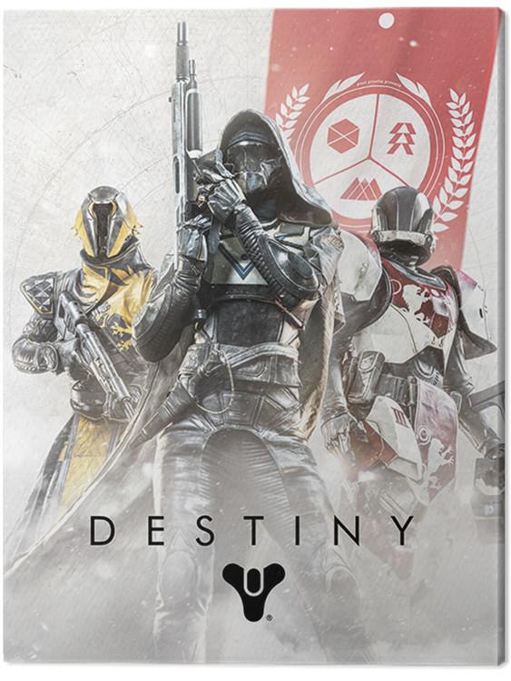 Canvas Print Destiny - Fireteam