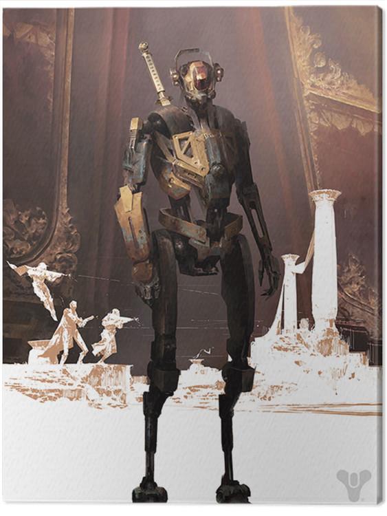 Canvas Print Destiny - Penumbra