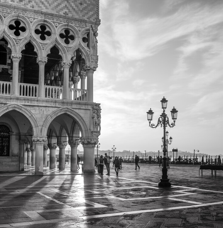 Canvas Print Early Morning - Venice