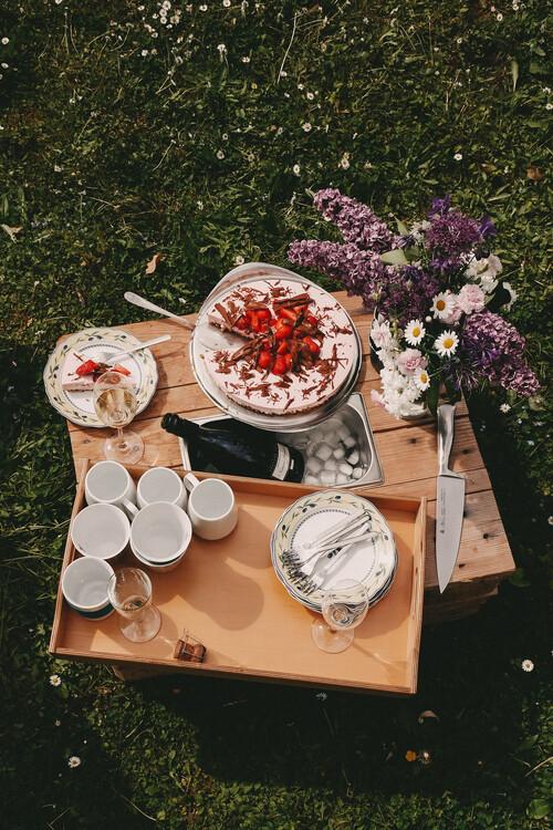 Canvas Print Family picnic
