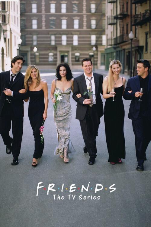Canvas Print Friends - TV Series