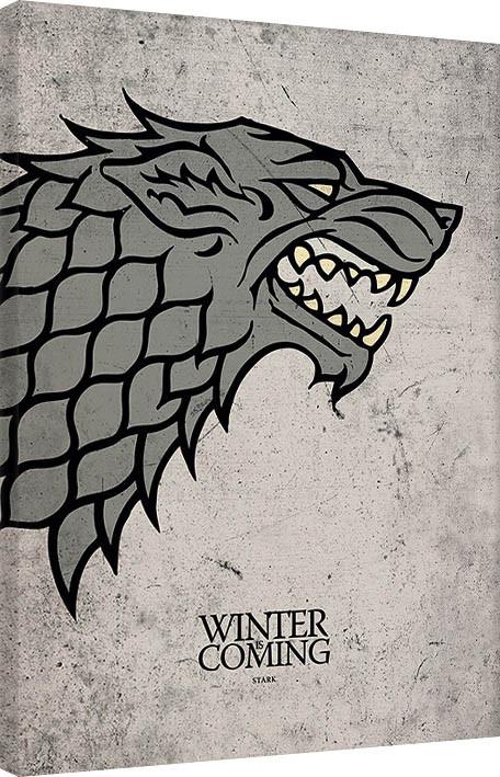 Canvas Print Game of Thrones - Stark