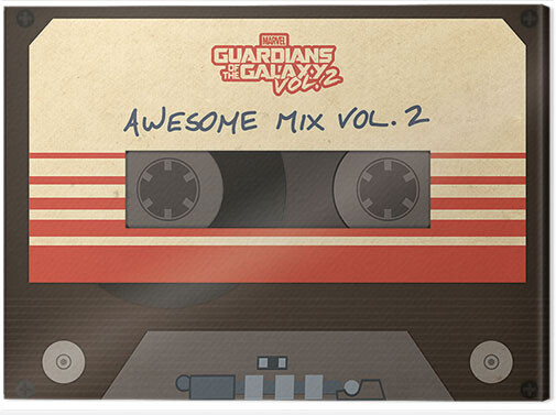 Canvas Print Guardians Of The Galaxy Vol. 2 - Awesome Mix Vol. 2