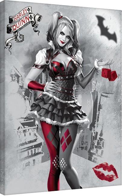 Canvas Print Harley Quinn