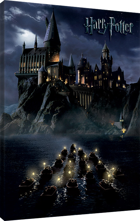 Harry Potter - Hogwarts School Canvas Print