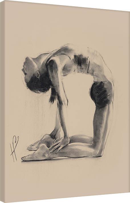 Canvas Print Hazel Bowman - Camel Pose