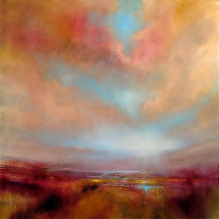 Canvas Print Heathland