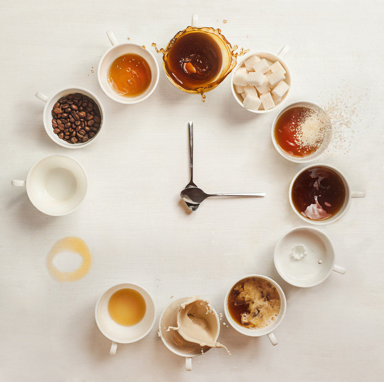 Canvas Print It's Always Coffee Time