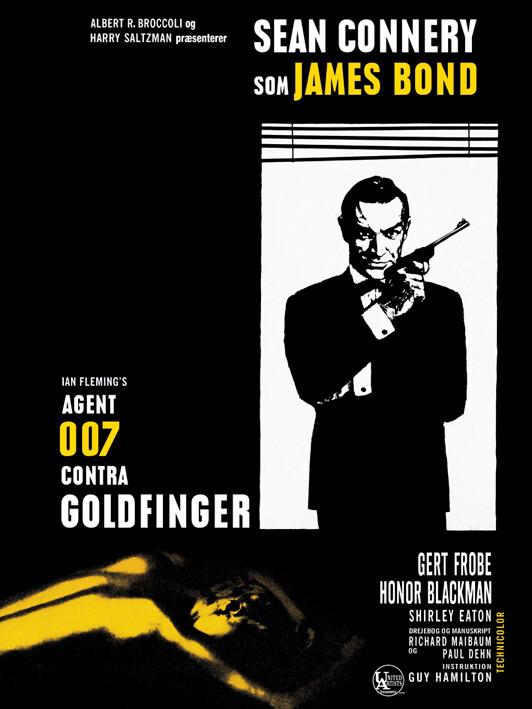 Canvas Print James Bond - Goldfinger - Window