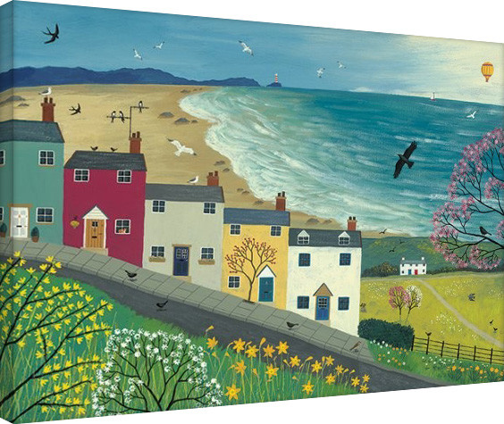 Jo Grundy - Spring is in the Air Canvas Print
