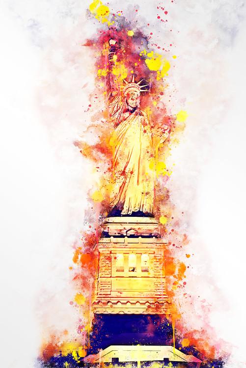 Canvas Print Lady Liberty