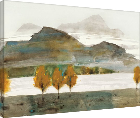 Canvas Print Law Wai Hin - Autumn Trees II