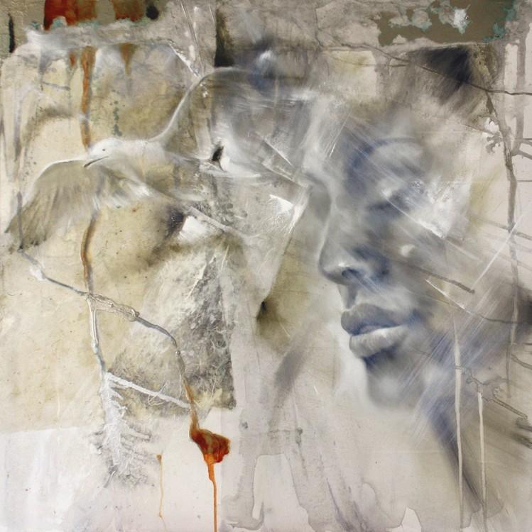 Canvas Print Let go