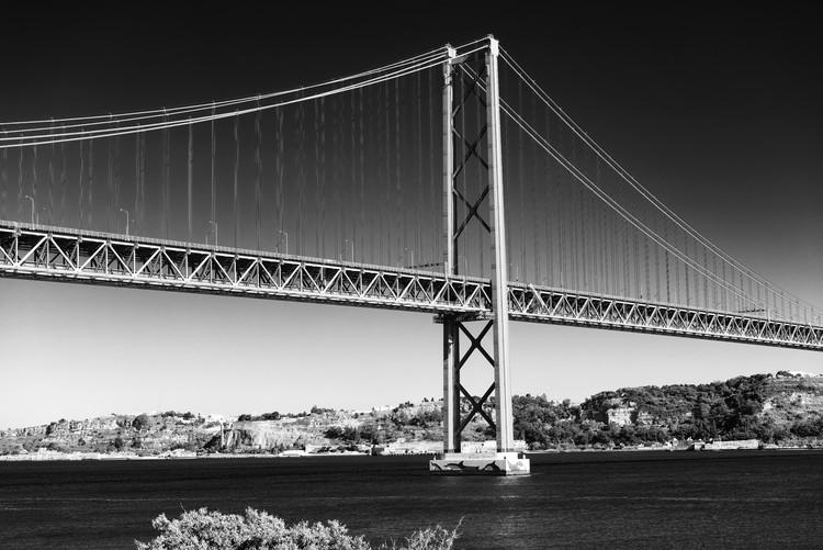 Canvas Print Lisbon Bridge