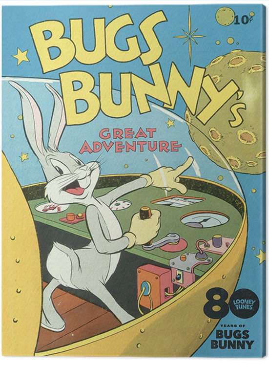 Canvas Print Looney Tunes - Bugs Bunny Great Adventure
