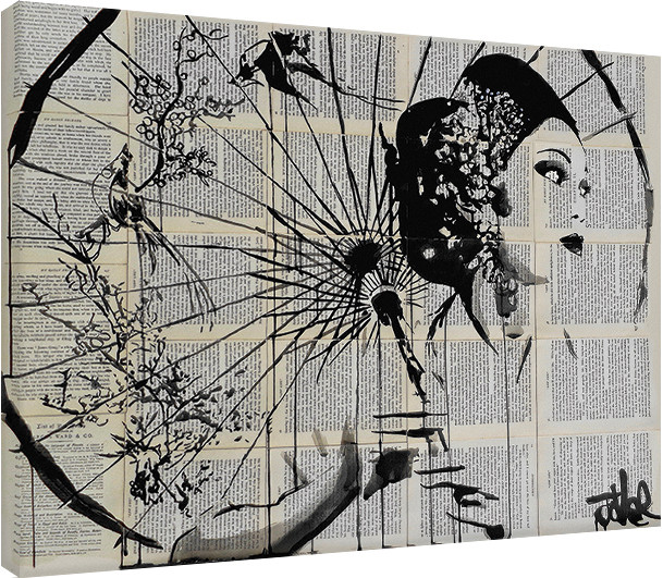 Canvas Print Loui Jover - Blossom