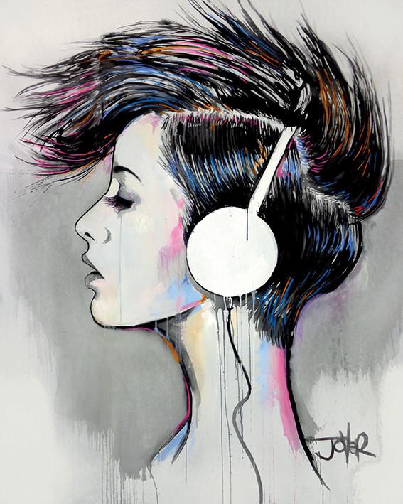 Canvas Print Loui Jover - Inner Beat