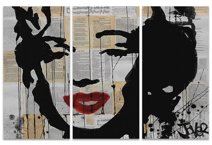 Canvas Print Loui Jover - Marilyn